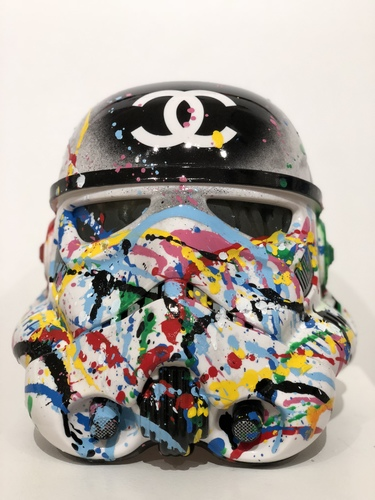 Stormtrooper Addict Chanel Black - Edition Miami, 2018