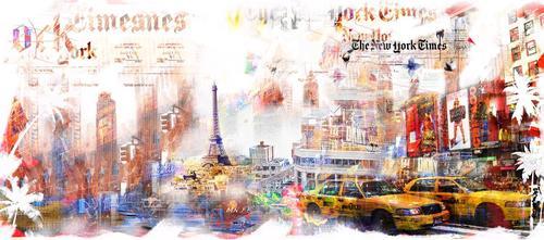 Voyage entre Paris et New-York
