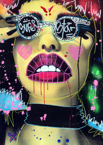 Visionary 3 (Art Vandalism)