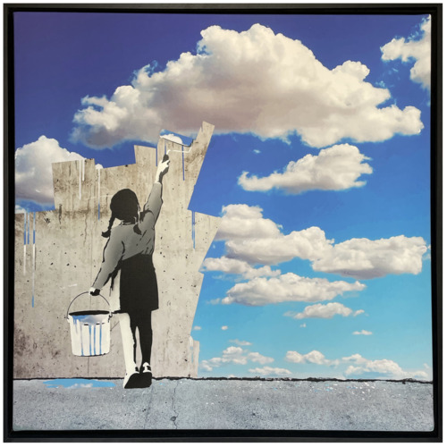 """SWEET ESCAPE - """"Paint the Wall Sky"""", 2021"""