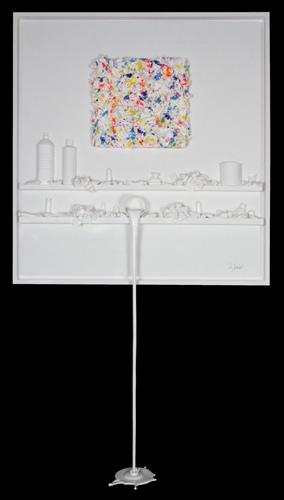 Flow 73 - hommage à Pollock couleurs