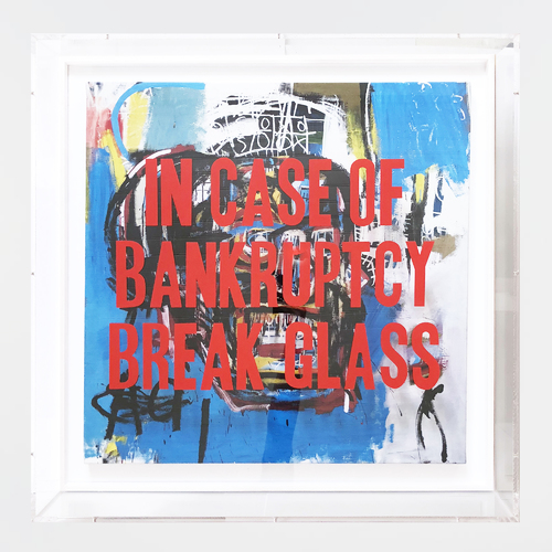 In Case of Bankruptcy - Basquiat Skull