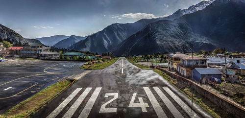Lukla Airport, 2017 (Small wall edition)