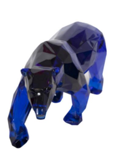 Polar Bear Blue Crystal Clear