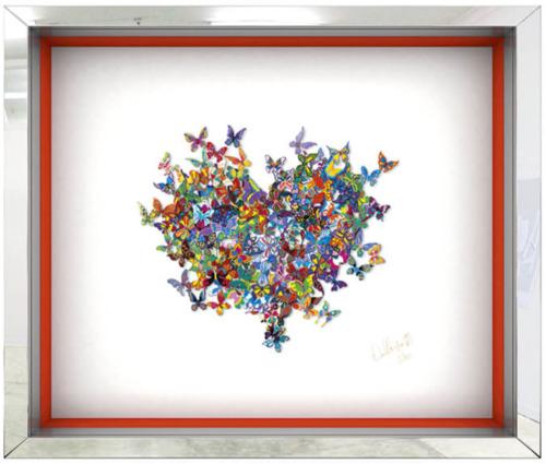 My Heart is all a Flutter - Papercut