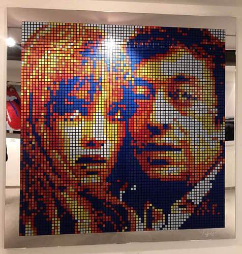 Rubiks Cube Gainsbourg / Birkin