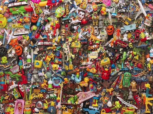 Hiding in the City- Plastic Toys, 2014