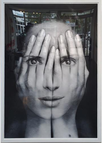 Mirror II, 2017 (avec cercles blanc)