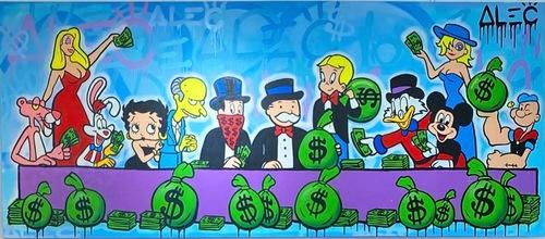 Money Team Last Supper