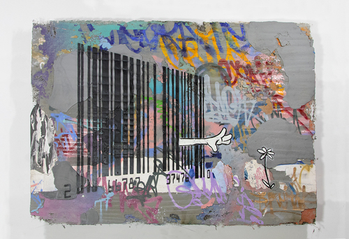 Untitled (Barcode), 2017