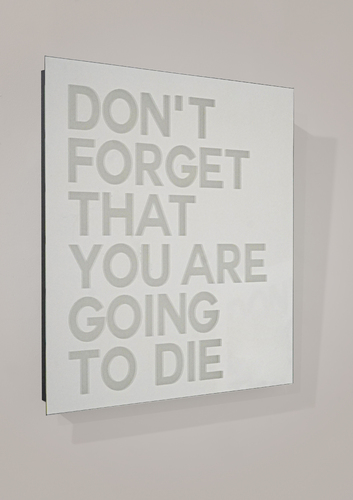 SERIE MIROIRS GRAVES - Don't forget, 2021