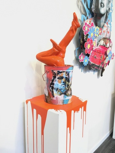 Art of The Bucket - Installation