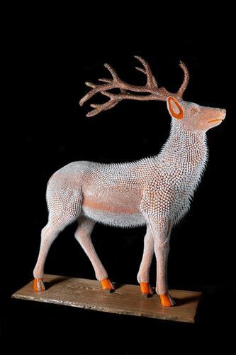 Cerf Orange (220 cm)