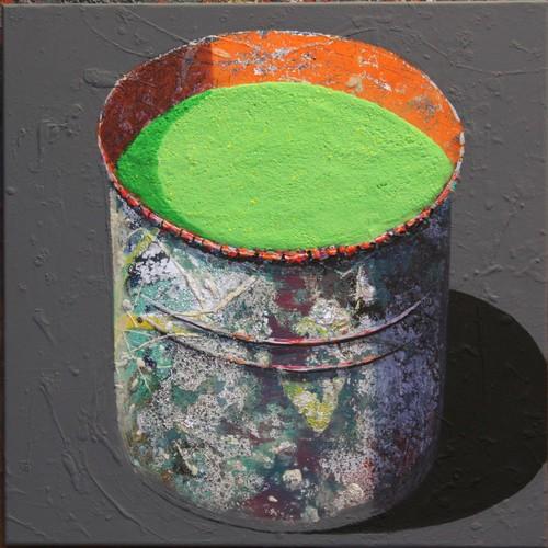 Pot d'atelier - Vert chartreuse