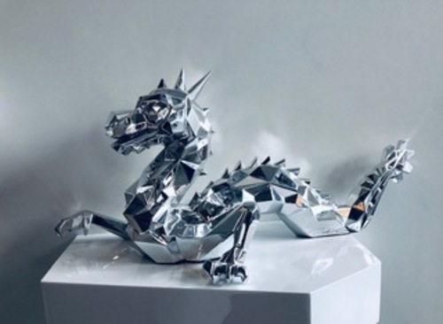 Dragon Chrome on resin