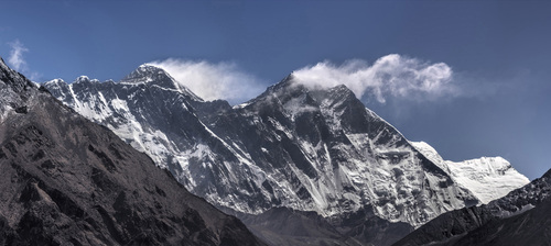 Everest Range - Nuptse