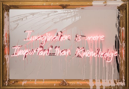 Imagination is more Important than Knowledge, 2018