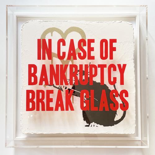 "In Case of Bankruptcy - ""Love Rat Golden"", 2021"