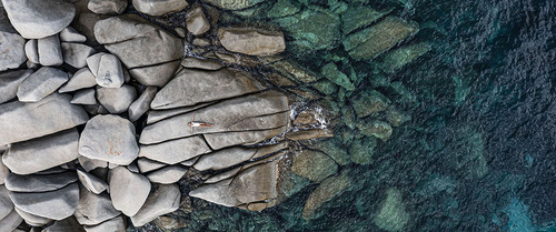 View from the sky : Lavazzi Rocks