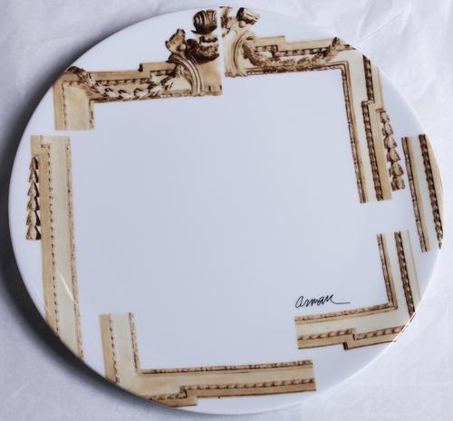Les cadres déstructurés (assiettes)