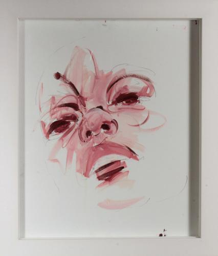 Visage rouge Sienne