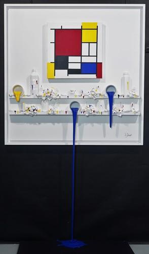Flow 173 - Hommage à Mondrian