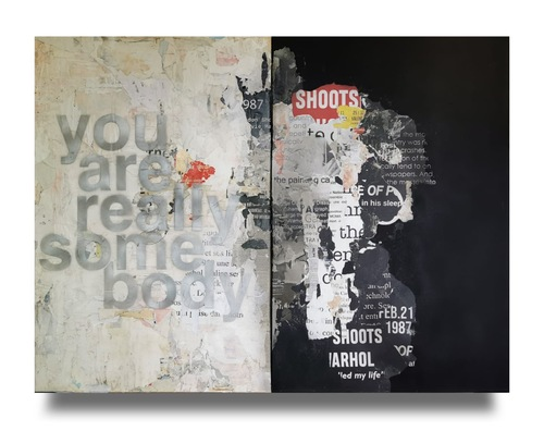"""Diptyque """"You are really somebody"""", 2021"""