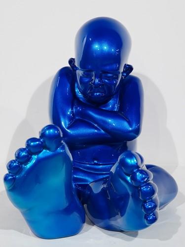 Babyfoot 35 - Résine bleu