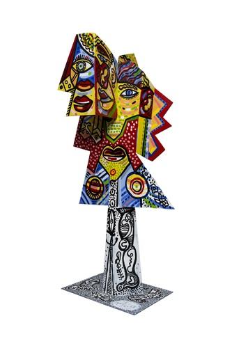 Figure cubiste, 2017