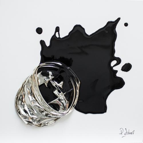 Splat Chromé 005 - Noir