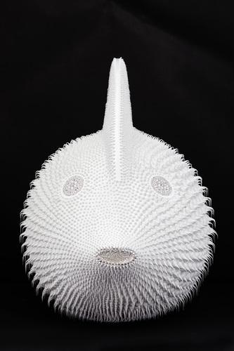 Poisson Lune Blanc, 2020 - (80 cm)